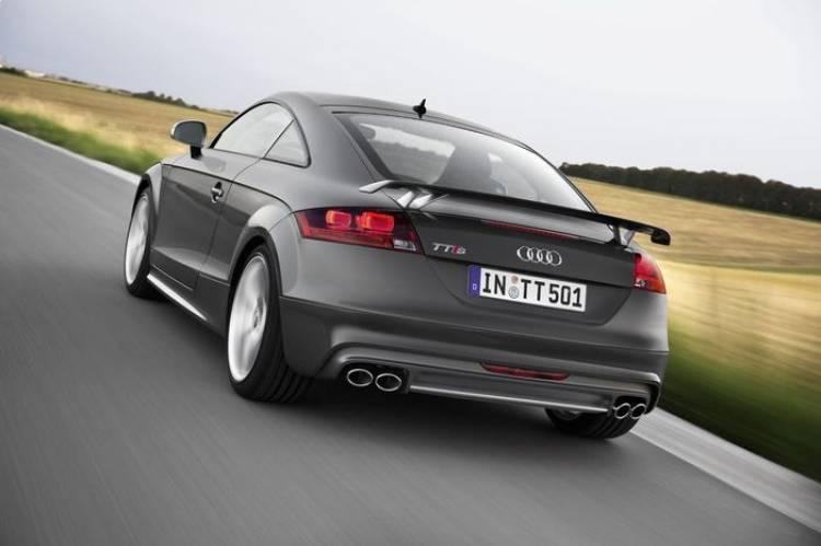Audi TTS competition, celebrando los 500.000 Audi TT producidos