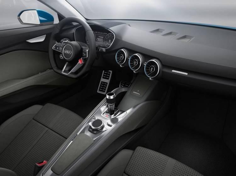Primeras imágenes del nuevo SUV coupé conceptual de Audi