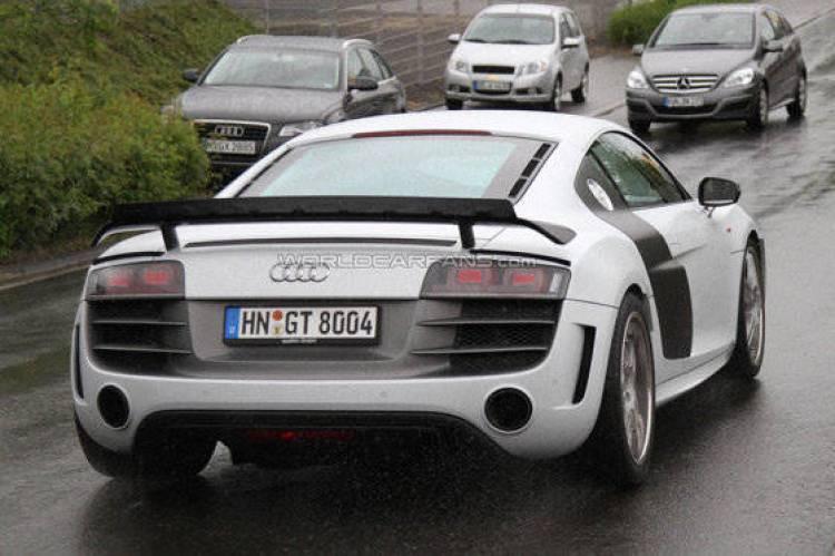Fotos espía del Audi R8 Sport