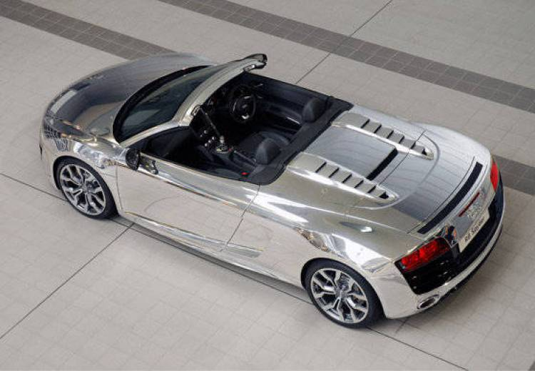 Audi R8 V10 Spyder Chrome Edition