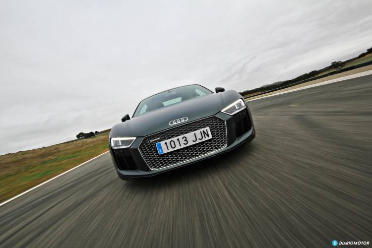 Audi R8 en Ascari