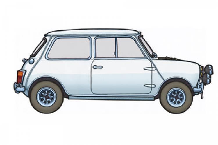 Mini Cooper General Lee >> 451 Illustrator, dibujos hechos a mano de coches de película - Diariomotor