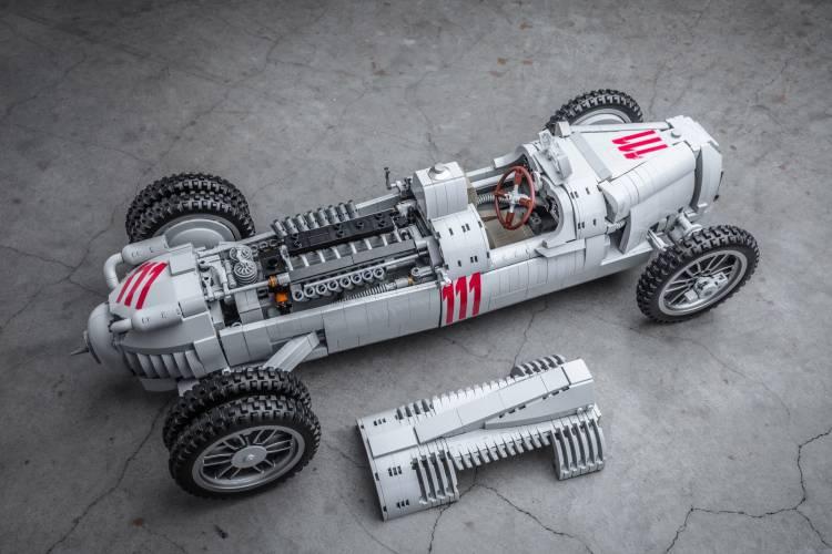 Auto Union Type C Lego 9