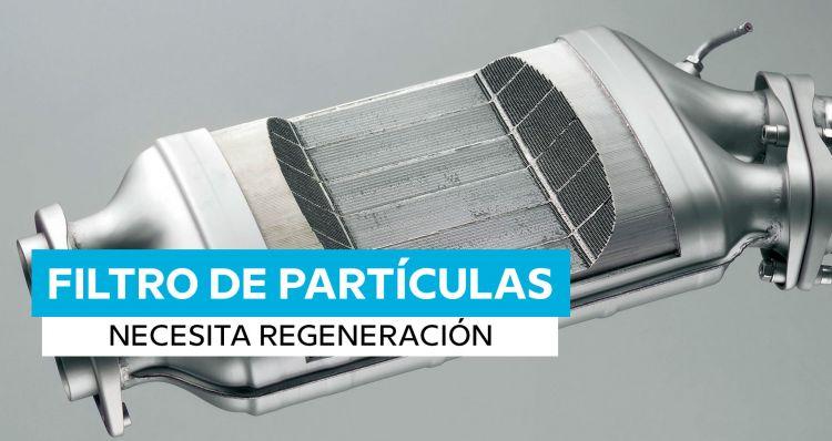Averias Filtro De Particulas Diesel Lleno Necesita Regeneracion