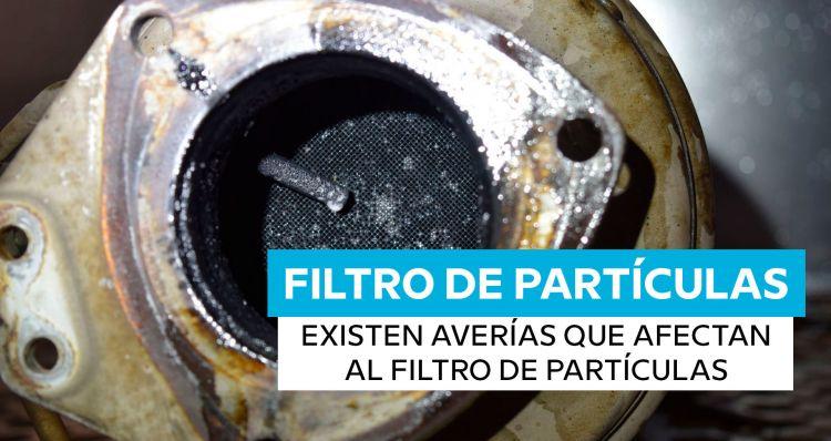 Averias Filtro De Particulas Diesel Lleno Otros Sistemas