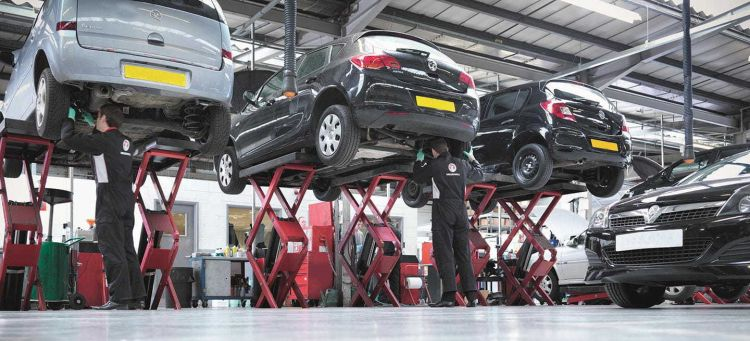 Averias Suspension Opel Astra Taller