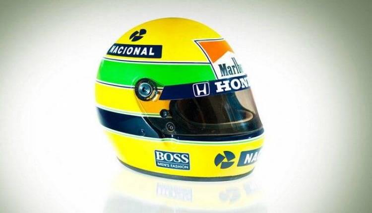 El casco de Ayrton Senna de 1991, vendido por más de 100.000 dólares