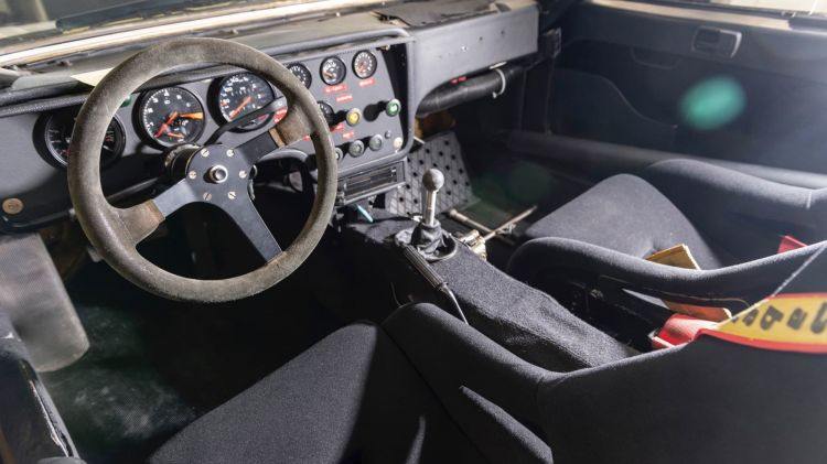 Baja Temporal Prorrogable Porsche 924 Carrera Gts Interior