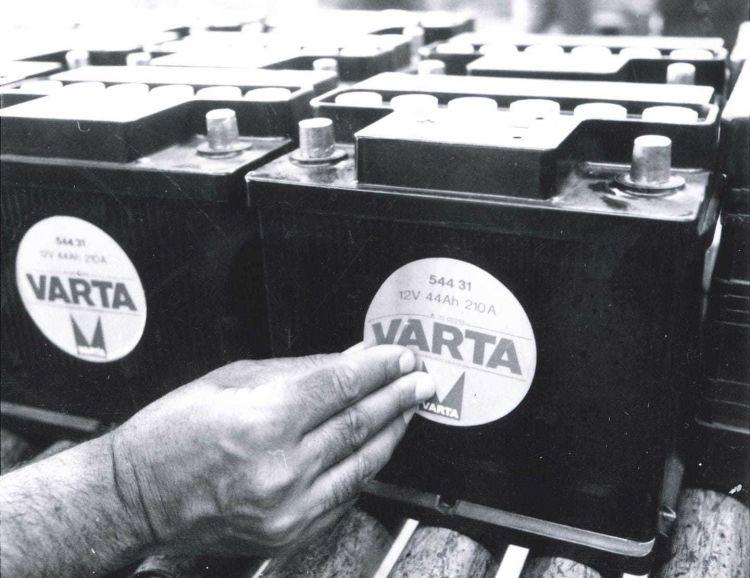 Bateria Averias Varta Blanco Negro