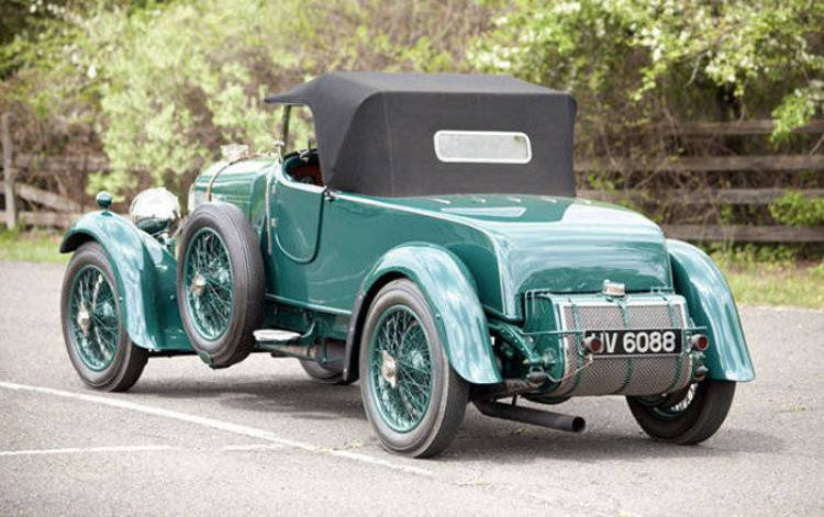 Bentley 4 1/2 litre Two-Seat Sports
