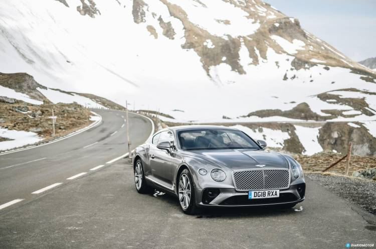 Bentley Continenta Gt 2018 14