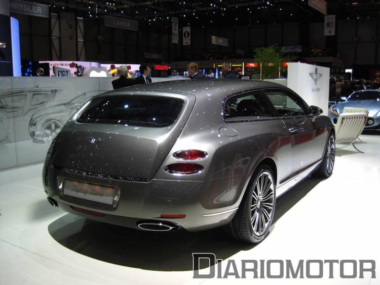Bentley Continental Flying Star, un shooting brake en Ginebra