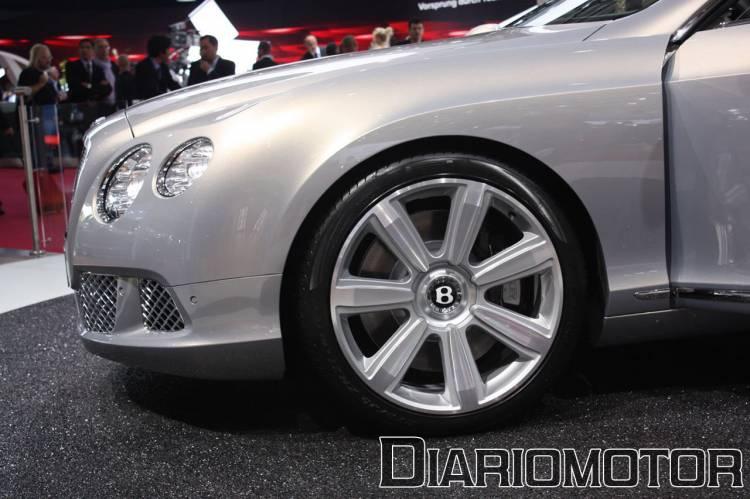 Bentley Continental GT en el Salón de París