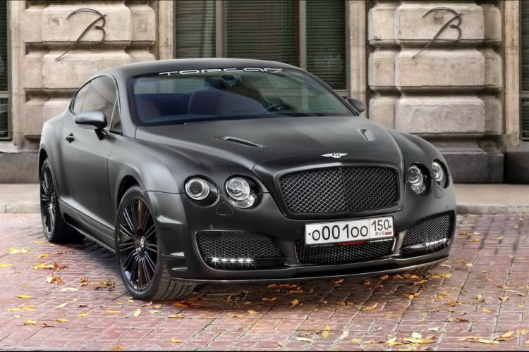 Bentley Continental GT Bullet