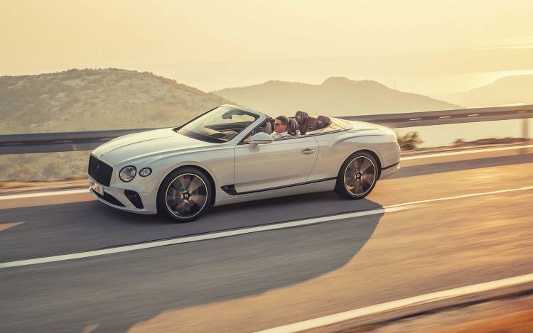 Bentley Continental Gt Convertible 2019 07