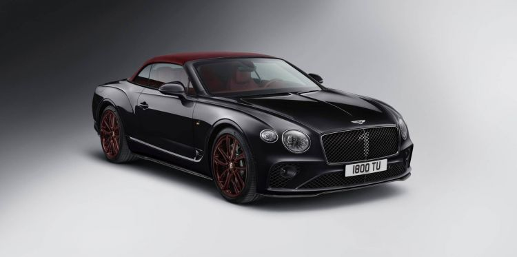 Bentley Continental Gt Convertible Edition 1 7