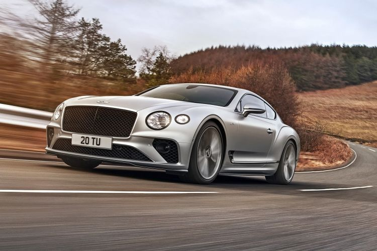 Bentley Continental Gt Speed 2021 0321 001