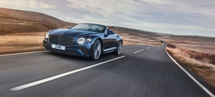 Bentley Continental Gt Speed Convertible 2021 22