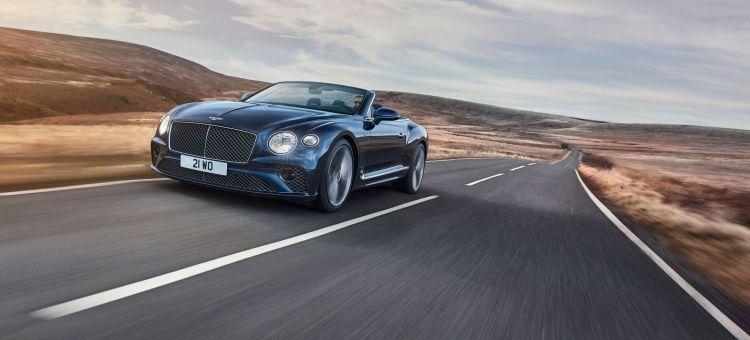 Bentley Continental Gt Speed Convertible 2021 22