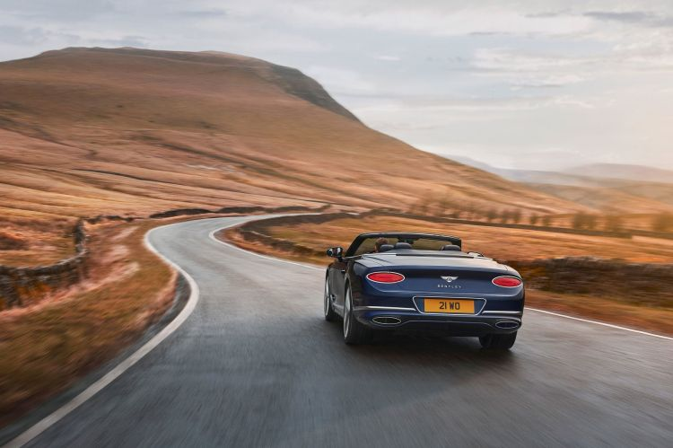 Bentley Continental Gt Speed Convertible 2021 2