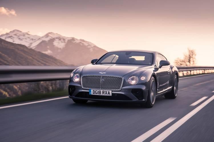 Bentley Continental Gt Tungsten 3
