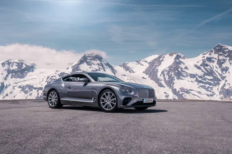 Bentley Continental Gt Tungsten 9