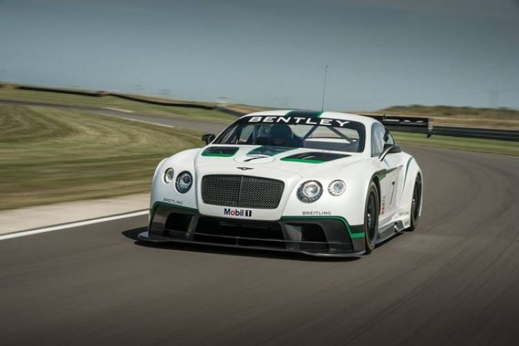 Bentley Continental GT V8 RS: filmada en Nürburgring la futura alternativa más deportiva