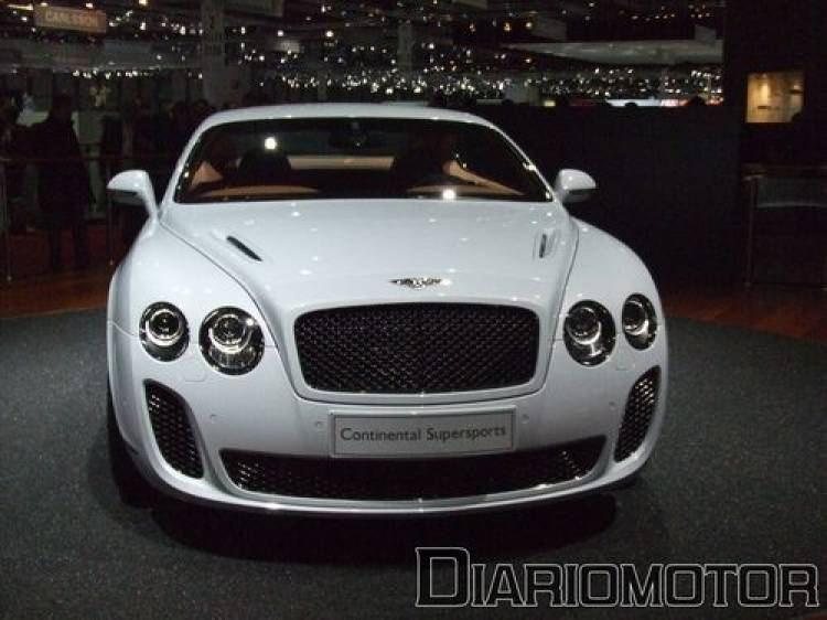 Bentley Supersports - Frontal