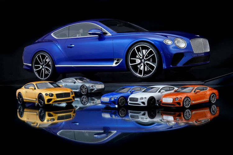 Bentley Miniaturas Continental Gt 03
