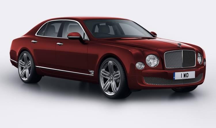 Bentley Mulsanne 95 Aniversario