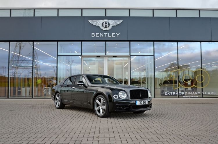 Bentley Mulsanne Speed S2 60 Anos V8 1219 022