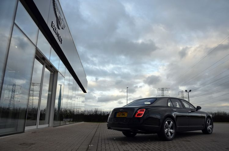 Bentley Mulsanne Speed S2 60 Anos V8 1219 026