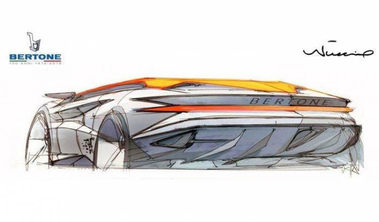 Bertone Nuccio Concept, adelantos del nuevo prototipo en Ginebra