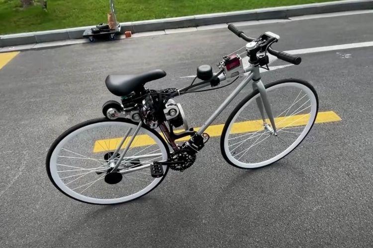 Autonomous Electric Bicycle 03