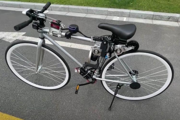 Electric Autonomous Bicycle 05