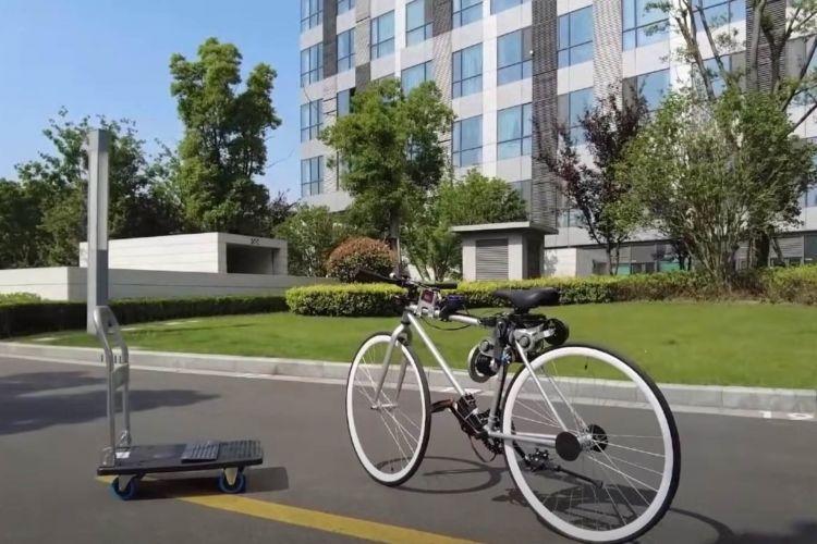 Electric Autonomous Bicycle 06