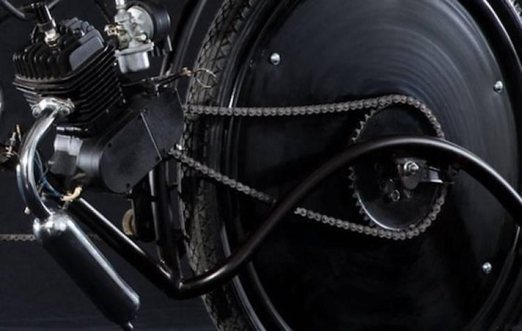 Estrambóticas y curiosas bicicletas con motor de Josh Hadar