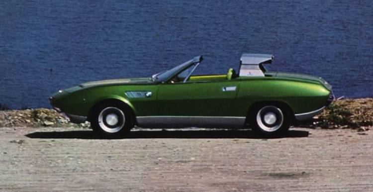 BMW 2800 Bertone Spicup