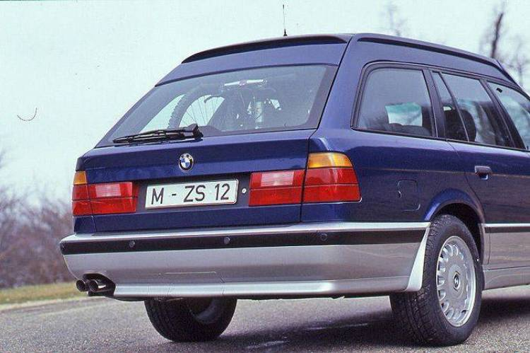 BMW 530iX Enduro Touring, el primer familiar aventurero data de 1993