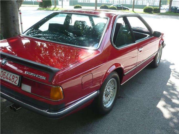 Bmw 635 Csi 1985 500 Km Venta 03