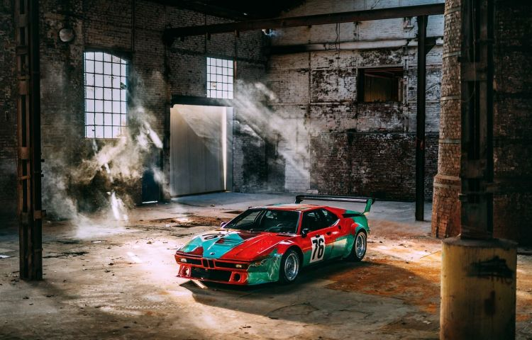 Bmw Art Car Andy Warhol M1 1