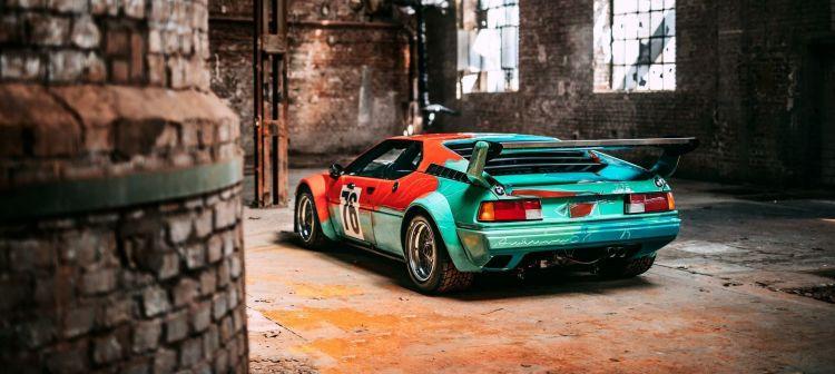 Bmw Art Car Andy Warhol M1 P