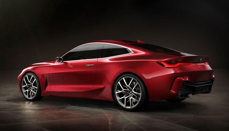 Bmw Concept4 Serie 4 Adelanto Trasera 2020