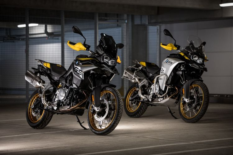 Bmw F 750 Gs 850 Gs P90393532 Highres Bmw F 850 Gs And Bmw