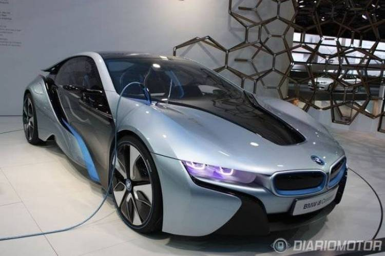 BMW electrifica Frankfurt: i3 e i8 Concept