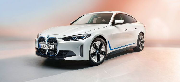 Bmw I4 Frontal Coche Electrico