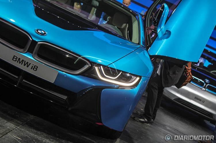 BMW i8 en el Salón de Frankfurt 2013