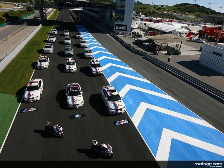 Flota BMW M de MotoGP