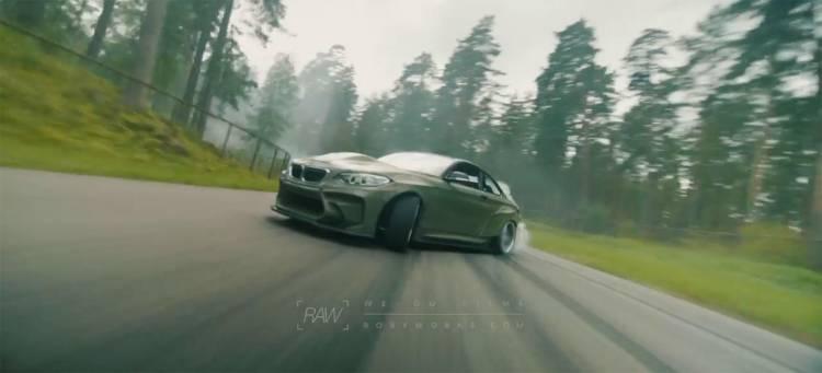 bmw-m2-v8-820-video-drifting