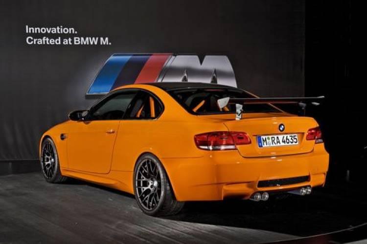 Bmw M3 Gts Naranja Ligero Y Potente Diariomotor